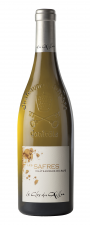 Le Clos du Caillou Châteauneuf du Pape Les Safres Blanc ( nog 2 fl. beschikbaar.)
