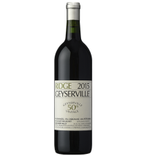 Ridge Geyserville 50th vintage