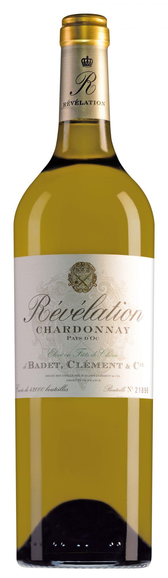 Révélation Pays d'Oc Chardonnay met schroefdop