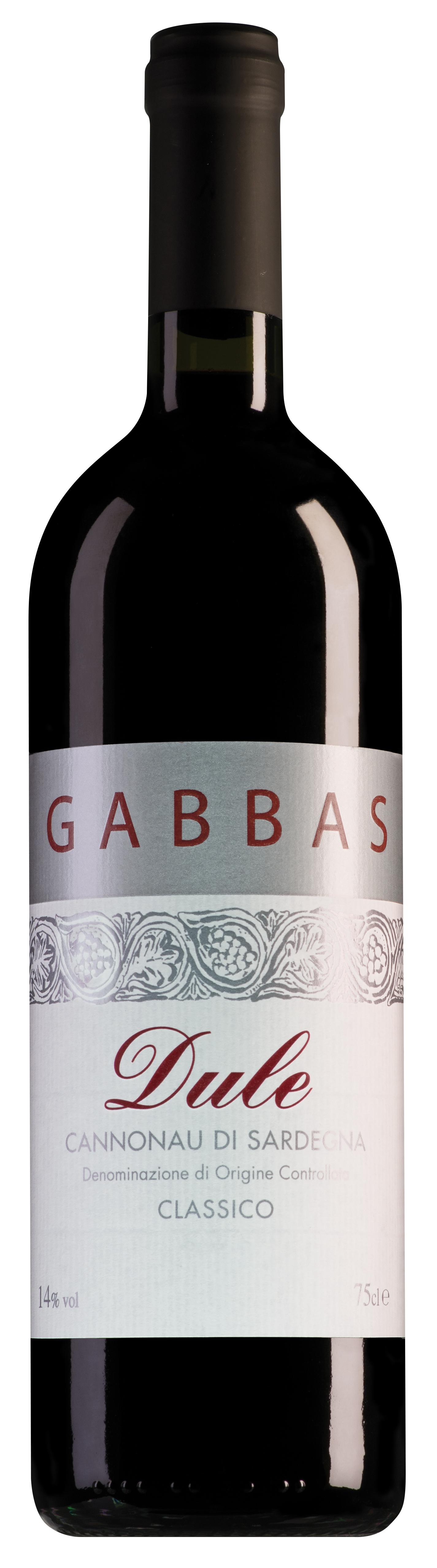 Gabbas Cannonau di Sardegna Dule