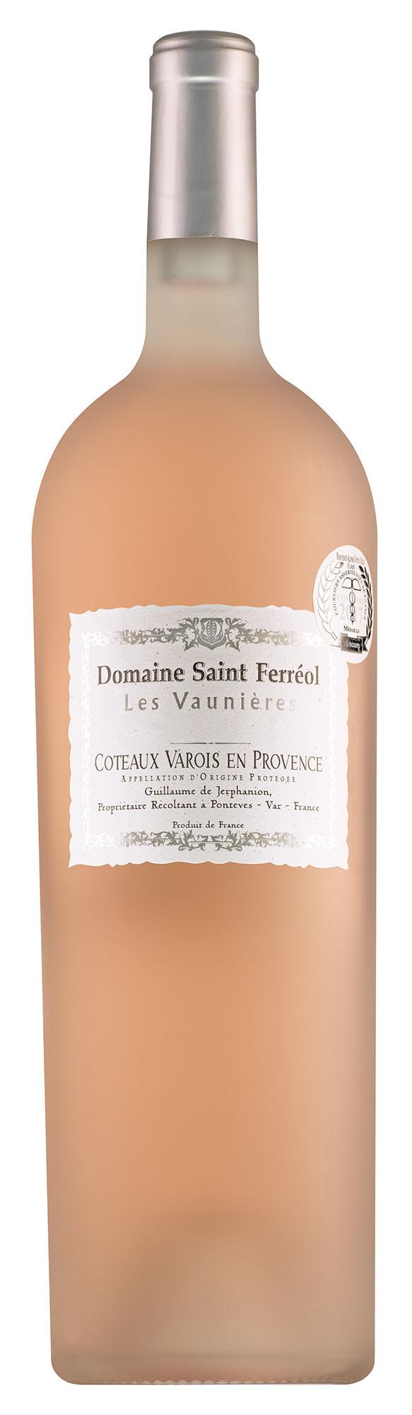 Domaine Saint Ferréol Coteaux Varois en Provence rosé magnum ( nog 3 magnums )