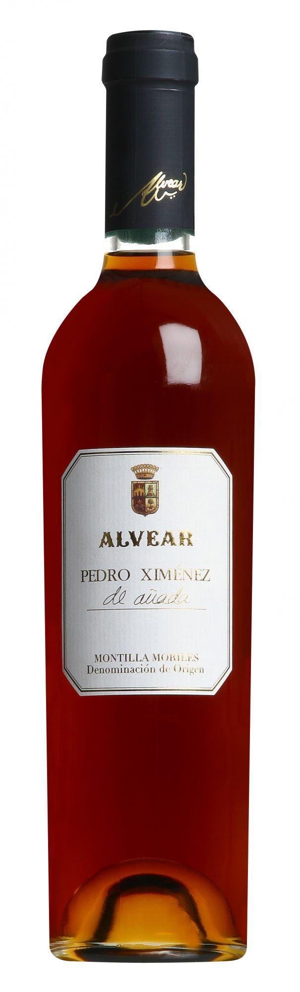 Alvear Montilla-Moriles Pedro Ximénez de Añada halve fles