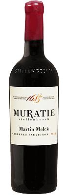 Muratie Martin Melck Cabernet Sauvignon