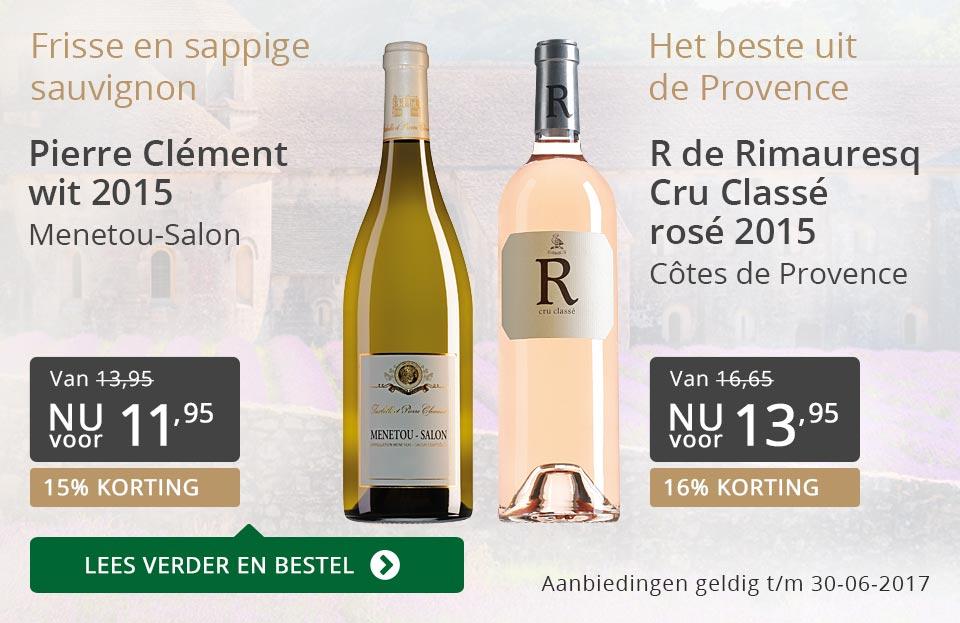 Aanbevolen wijnen juni 2017 - grijs/goud