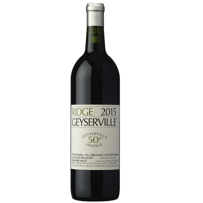 Ridge Geyserville 50th vintage