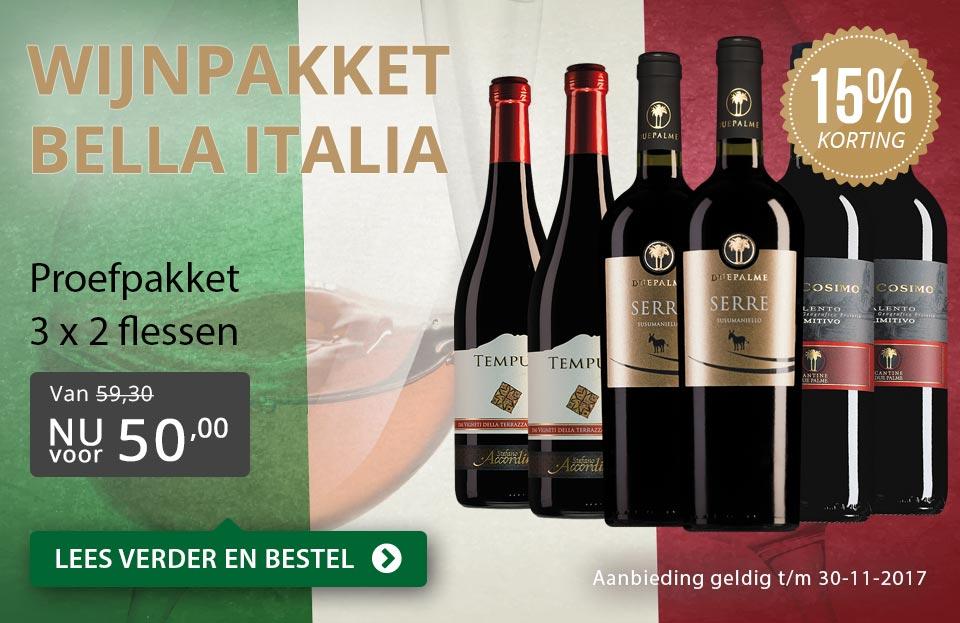 Proefpakket Bella Italia - grijs/goud