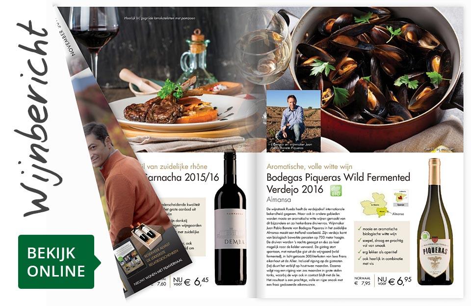 Online wijnbericht november 2017