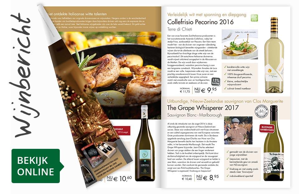 Online wijnbericht december 2017