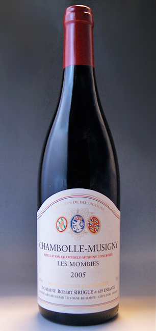 Domaine Robert Sirugue Chambolle-Musigny Les Mombies