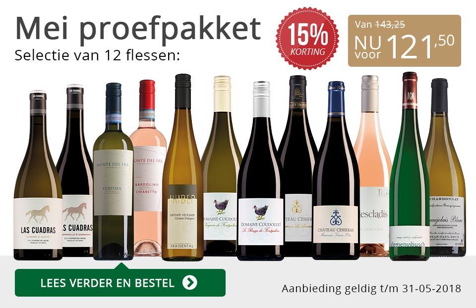 Proefpakket wijnbericht mei 2018 (121,50) - gijrs/goud