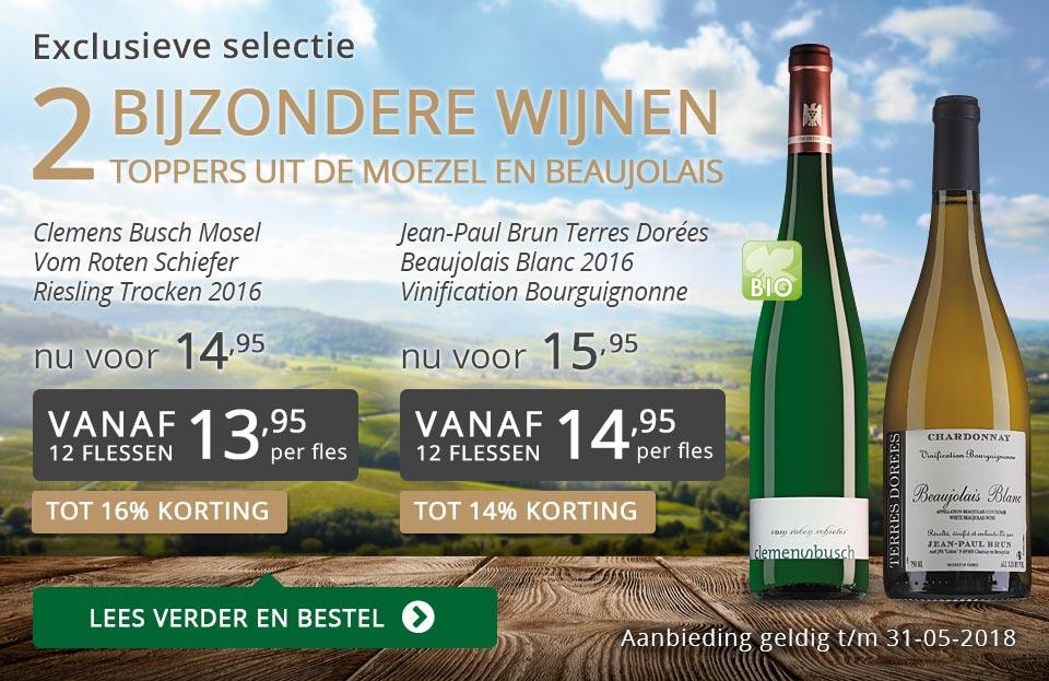 Exclusieve wijnen mei 2018- grijs/goud