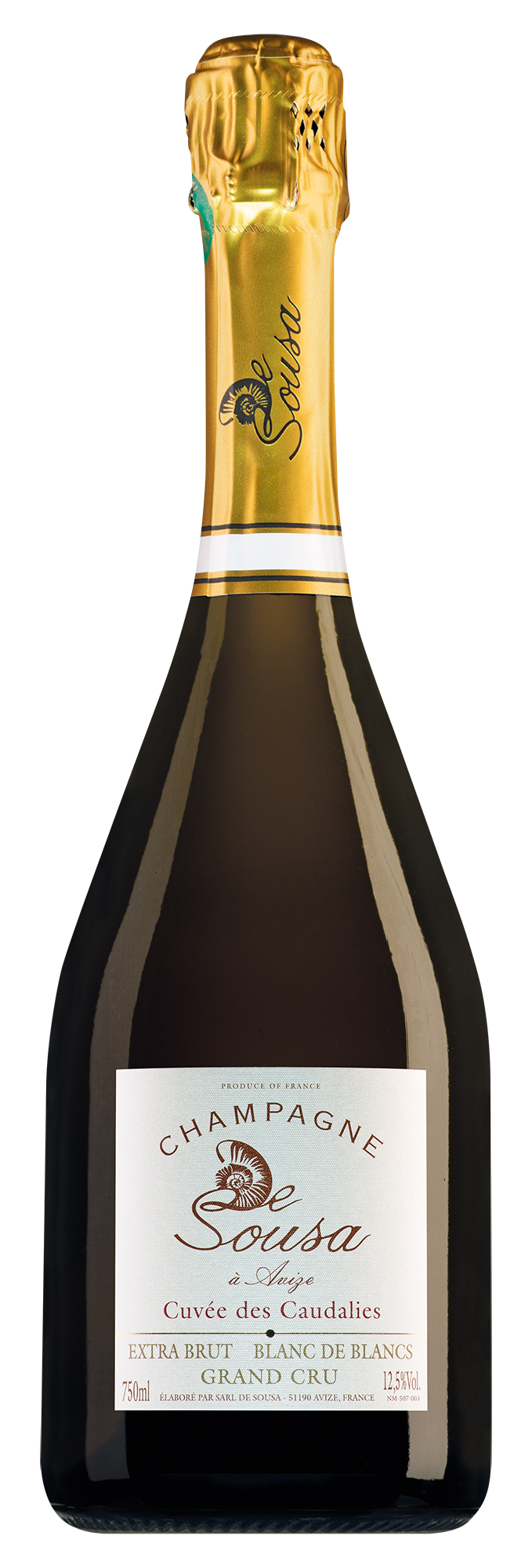 De Sousa Champagne Grand Cru Cuvée des Caudalies Extra Brut