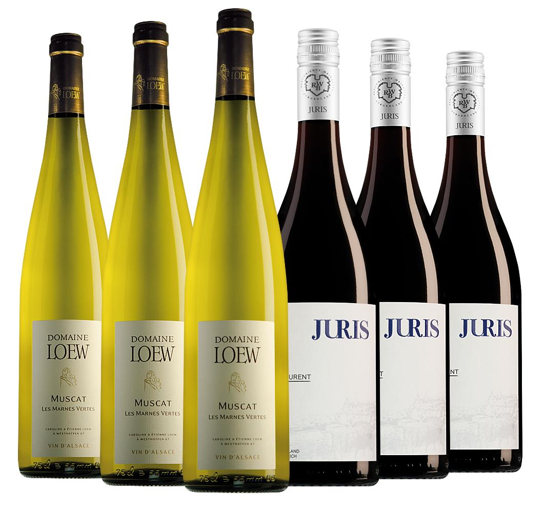 Proefpakket bijzondere wijnen juli (2x3 flessen)