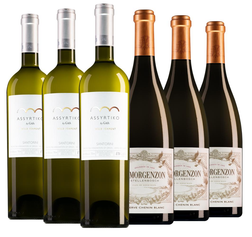 Proefpakket bijzondere wijnen september (2x3 flessen)