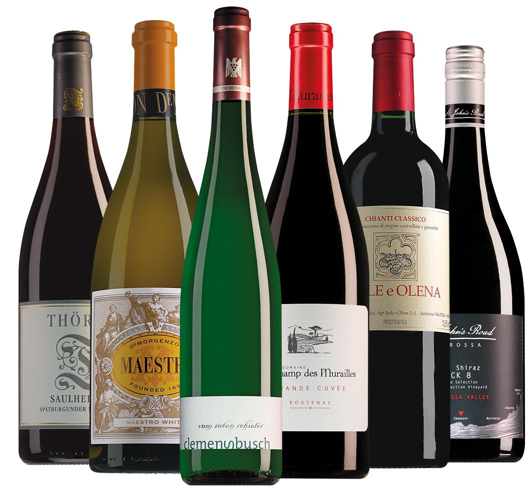 Proefpakket Master of Wine selectie (6 flessen)