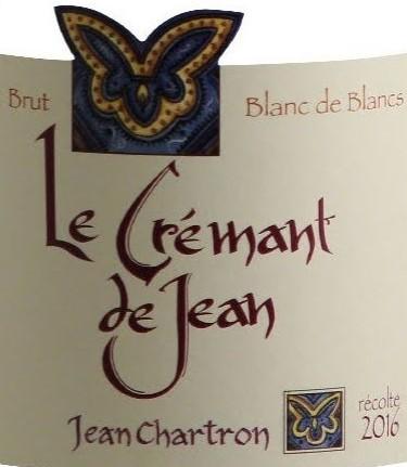 Le Crémant de Jean  Blanc de Blancs-Domaine Jean Chartron,Crémant de Bourgogne Magnum