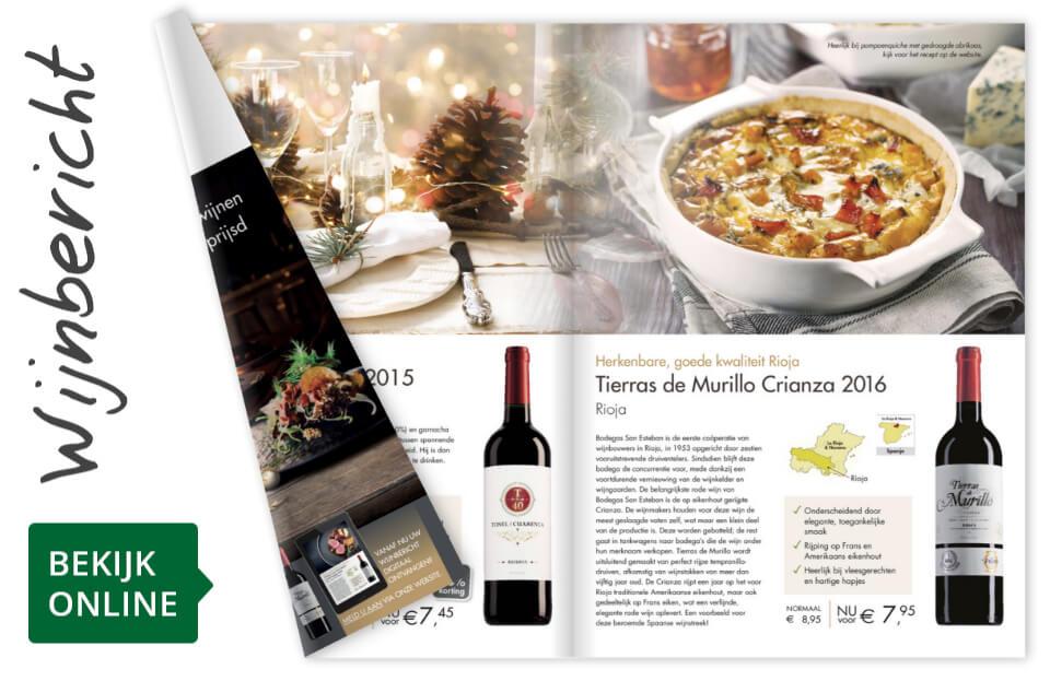 Online wijnbericht december 2019