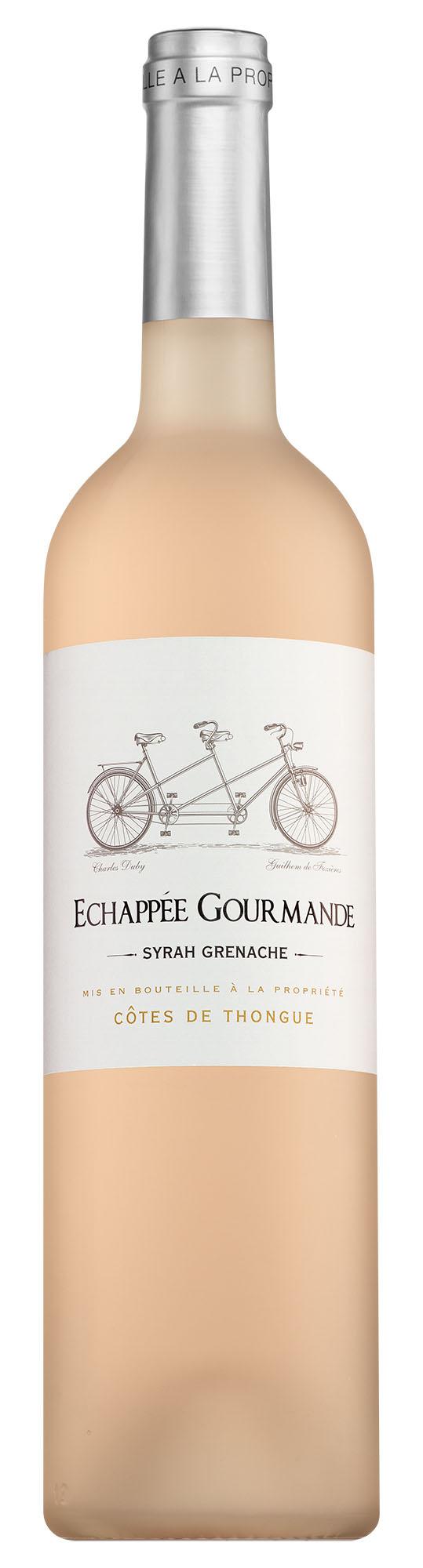 Échappée Gourmande Côtes de Thongue Syrah-Grenache Rosé