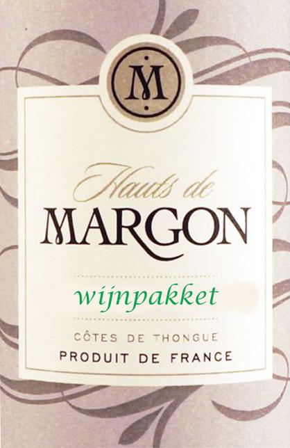 Wijnpakket Hauts de Margon 12 flessen  Aanbevolen Asperge wijnen