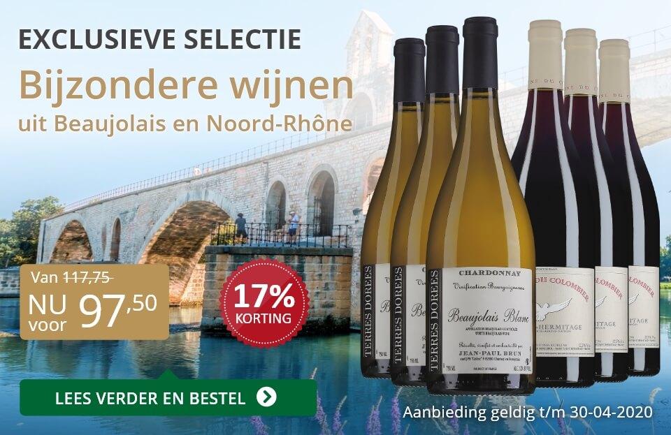 Wijnpakket bijzondere wijnen april 2020 (97,50)-grijs/goud