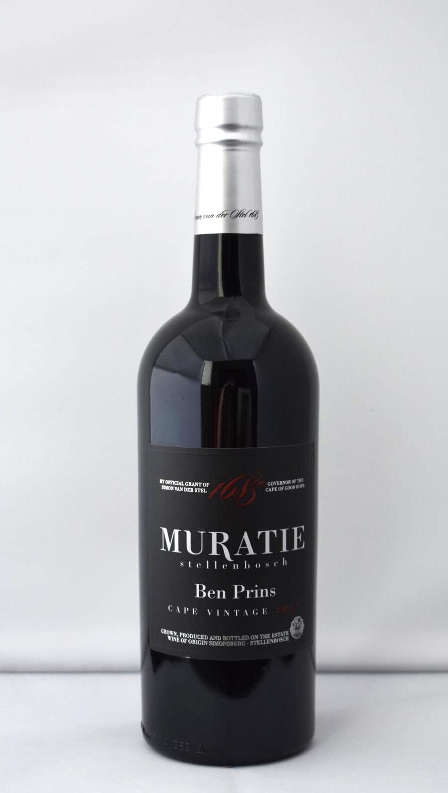 Muratie Ben Prins Cape Vintage