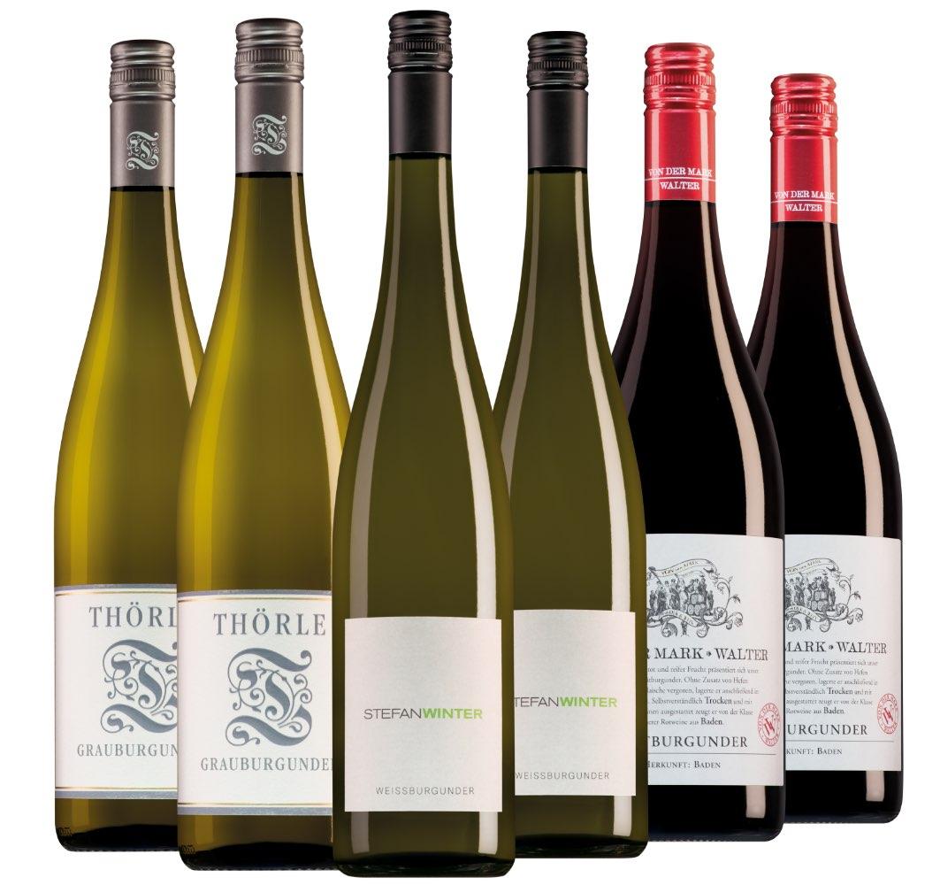 Wijnpakket Duitsland (3x2 flessen)