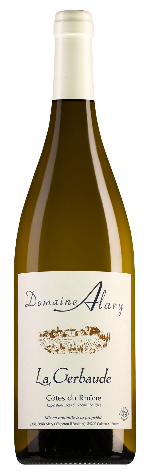 Domaine Alary Côtes du Rhône La Gerbaude Blanc