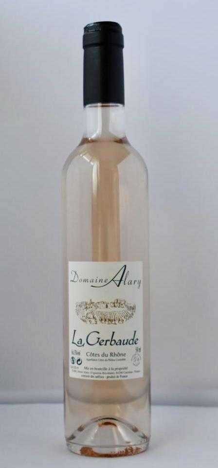 Domaine Alary Côtes du Rhône La Gerbaude Rosé 500ML