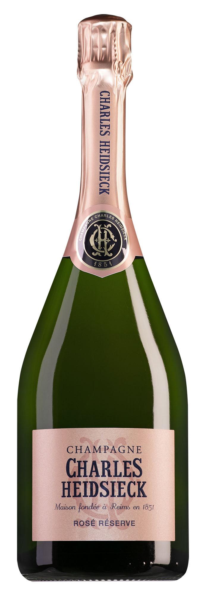 Charles Heidsieck Champagne Rosé Réserve Brut