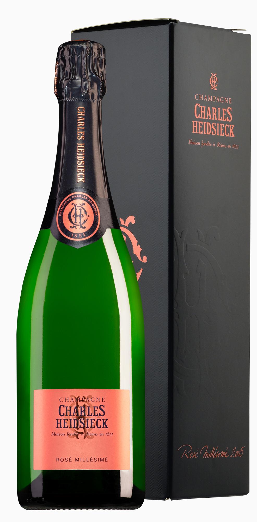 Charles Heidsieck Champagne Rosé Millésimé in geschenkdoos