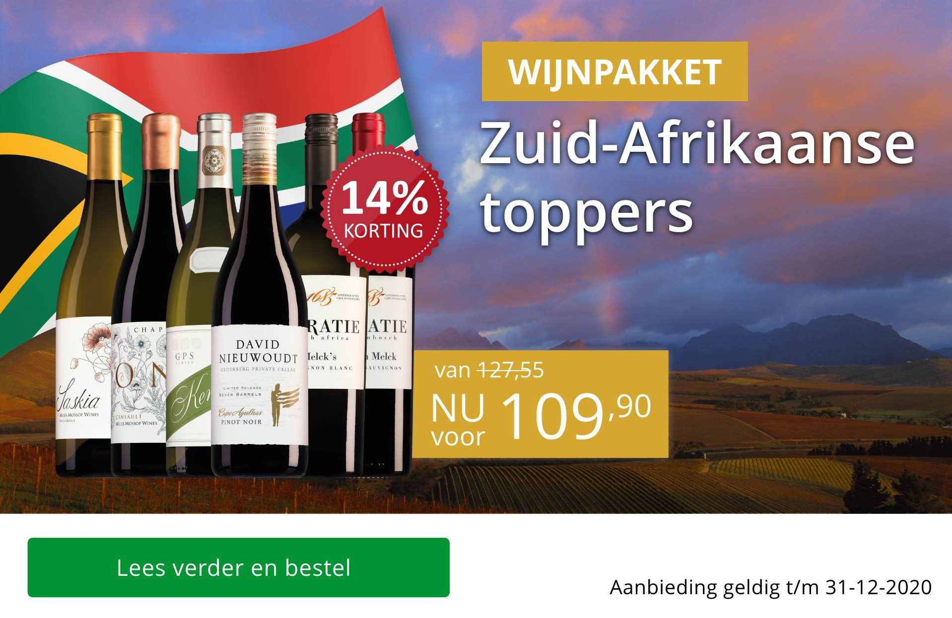 Zuid-Afrikaanse toppers